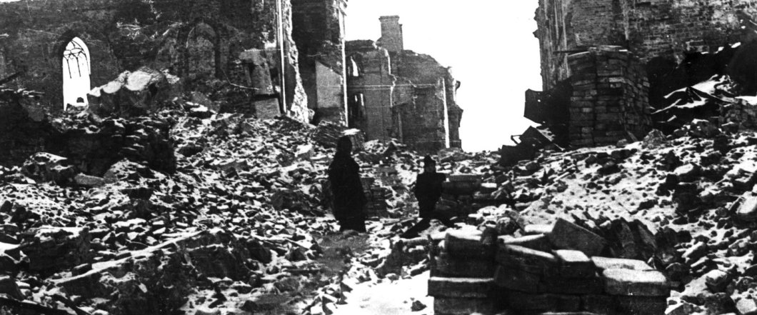 destruction of Warsaw